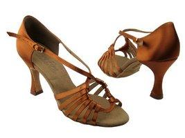 "Ladies Women Ballroom Dance Shoes from Very Fine C1661 Series 3"" Heel (9, Dar... - $75.95"