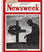 Newsweek 1946, June 3,  Memorial Day 1946 - $16.10