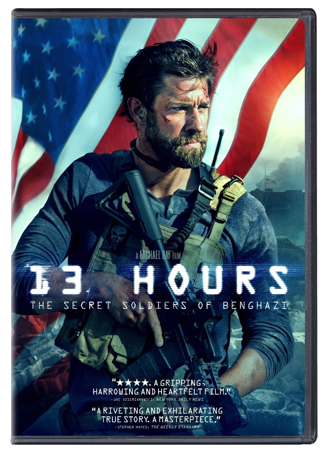13 Hours: The Secret Soldiers of Benghazi (2016) DVD