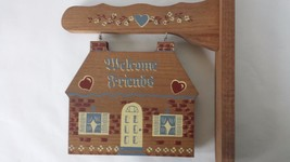 Homco Wood Swinging Welcome Sign - $18.68