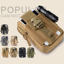 D30 Men Tactical Waist Bags Outdoor Sport Saddlebag Purse Mobile Phone C... - $15.70