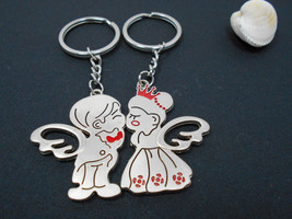 Key Ring key holder with magnet silver angels Bags Purses Keychains Accessories - $44.00