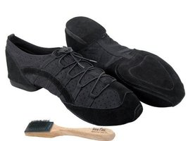 Ladies Women Men Ballroom Dance Sneakers from Very Fine 005 Black (6.5 (US Wo... - $59.95