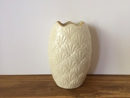 Lenox Ivory Porcelain Gold-trimmed Jacquard Col... - $16.20