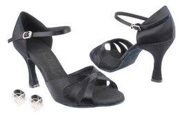 "Ladies Women Ballroom Dance Shoes Very Fine EKSA3840 SERA 3"" Heel with Heel P... - $65.95"