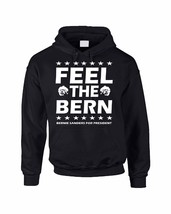 Adult Hoodie Sweatshirt Feel The Bern Bernie Sanders For President 20 - $24.94+