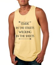 Men's Tank Top Stark In The Streets Wildling In The Sheets - $14.94+