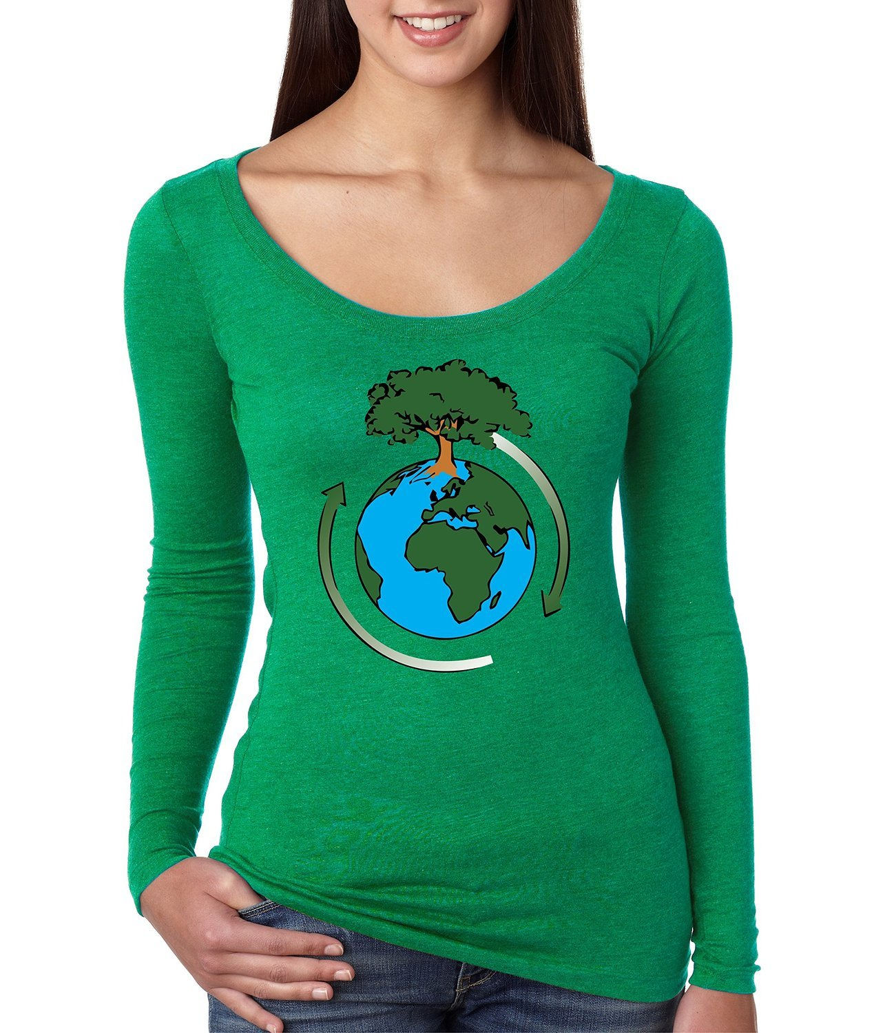 Primary image for Women's Shirt Earth Day Save The Planet Shirt