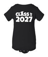 Infant Lap Shoulder Creeper Class Of 2027 Baby Funny Onesie - $12.94