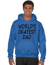 Men's Hoodie World's Okayest Dad Father's Day Gift - $24.94+