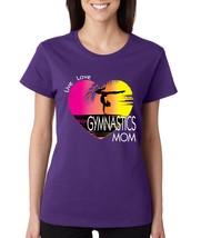 Women's T Shirt Gymnastics Mom Art Pink Print Love Live - $10.94+