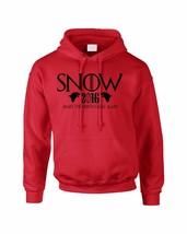 Adult Hoodie Snow Make The North Great Again John Snow 2016 - $24.94+