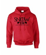 Adult Hoodie Snow Make The North Great Again John Snow 2016 - $24.94+