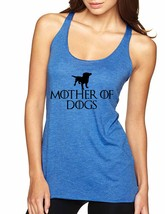 Women's Tank Top Mother Of Dogs Love Mother's Day Gift - $14.94