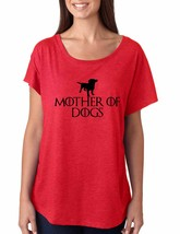 Women's Dolman Shirt Mother Of Dogs Love Mother Gift - $14.94
