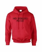 Adult Hoodie No Spoilers Please Funny Cool Top - $24.94+