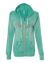 Women's Angel Fleece Zip Hooded Sweatshirt Fashion Cool Stuff - $39.99+
