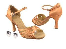 "Ladies Women Ballroom Dance Shoes Very Fine EKSA3870 SERA 2.5"" Heel with Heel... - $65.95"