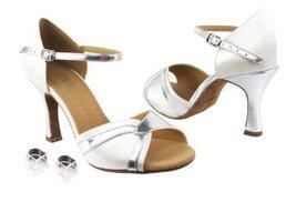 Ladies Women Ballroom Dance Shoes Very Fine EKS92305 Signature 2.5 Heel with Heel Protectors