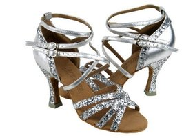 "Ladies Women Ballroom Dance Shoes from Very Fine C5008Mirage Series 2.5"" Heel... - $75.95"