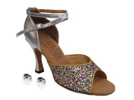 "Ladies Women Ballroom Dance Shoes Very Fine EKS9220 Signature 3"" Heel wi... - $75.95"