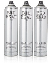 Tigi Bed Head Hard Head Spray 10.6 Oz Each (Pack of 3) - $36.99