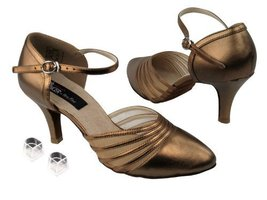 "Ladies Women Ballroom Dance Shoes from Very Fine CD6033M with HP 2.75"" Heel (... - $79.95"