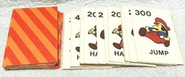 Game Parts Pieces Donkey Kong Milton Bradley 48 Cards - $7.82