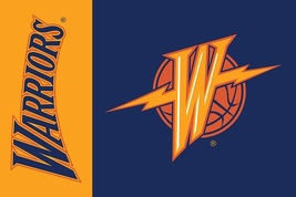Golden State Warriors Retro 3' X 5' (3 Ft. by 5 Ft.) Flag With Metal Gr... - $23.99