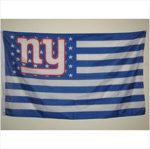 New York Giants Blue/White USA American 3' X 5' (3 Ft. by 5 Ft.) Flag  - $23.99