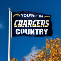 You're In San Diego Chargers Country 3' X 5' (3 Ft. by 5 Ft.) Blue Flag - $23.99