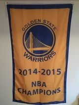 Golden State Warriors Gold 2014-2015 NBA Champions 3X5 (3 Ft. by 5 Ft.) ... - $23.99