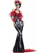 Party King Glamour Muerta Día de los Calavera Adulto Disfraz Halloween P... - $76.13