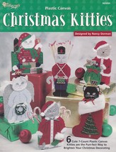 Christmas Kitties, The Needlecraft Shop Plastic Canvas Pattern Booklet 9... - $5.95