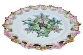 Canada Decorative Hanging Souvenir Plate Regal Edges Mountie Niagara Mon... - $29.39