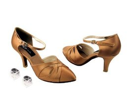 "Ladies Women Ballroom Dance Shoes from Very Fine CD6007 with HP 2.5"" Heel (5,... - $79.95"