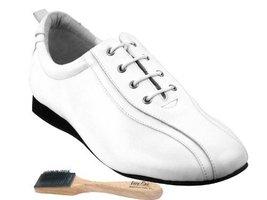 Ladies Women Men Ballroom Dance Shoes Very Fine EKSO103 Flat Heel with Shoes ... - $75.95