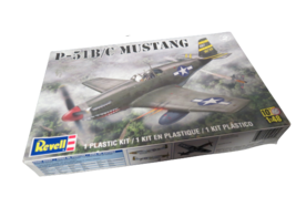 Revell P-51 B/C Mustang 1:48 1/48 Scale Plastic Model Kit 85-5256 New In... - $21.78