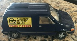 Publishers Clearing House PRIZE PATROL Mini Van Diecast COIN BANK 1997 E762 - $19.34