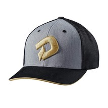 DeMarini Gold D Flexfit, Heather Grey/Black Adult Hat - $29.99