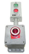 RELAY AND CONTROL CORP.  PUSHBUTTON STATION SS600 600V MAX W/ CARLON A-1758