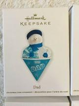 Hallmark Keepsake Snowcone Family Lot Of 4 Christmas Ornaments New - £17.41 GBP
