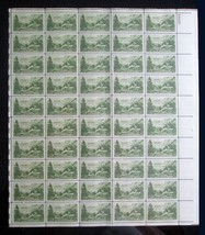 1951 Full Sheet USPS 50 VF MNH OG Scott #999 Nevada Settlement Centennl ... - $6.92