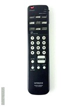 Hitachi Clu670Gr Tv Remote Control with Battery Cover Tested Working - $7.92