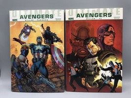 Ultimate Avengers 1 2 Set Hardcover Graphic Novels Mark Millar - $18.46
