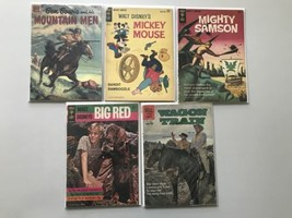 Lot of 10 Gold Key/Dell Comics - $49.50
