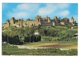 France Cite de Carcassonne Fort Citadel Panoramic View Vtg APA-POUX Post... - $4.99