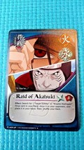 Naruto Collectible Card Game: Raid of Akatsuki - $6.99