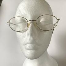 Ann Klein Eyeglasses Frames Gold  50-19-135 Women's Glasses - $19.79