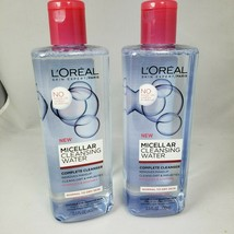 2 Pack L'Oreal Micellar Cleansing Water 2 Pack Normal To Dry Cleanser 13.5 FL OZ - $16.78